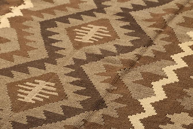 Stor Kelimmatta Maimane 195x293 - Brun - Inredning - Mattor - Kelimmattor