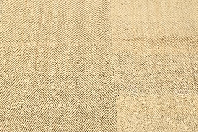 Stor Kelimmatta Moderna 166x220 - Beige - Inredning - Mattor - Kelimmattor