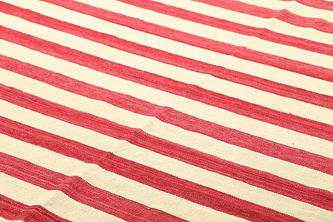Stor Kelimmatta Moderna 207x284 - Röd Gul - Inredning - Mattor - Kelimmattor