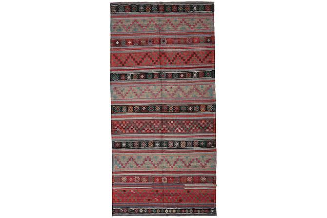 Stor Kelimmatta Turkisk 172x350 - Röd - Inredning - Mattor - Kelimmattor