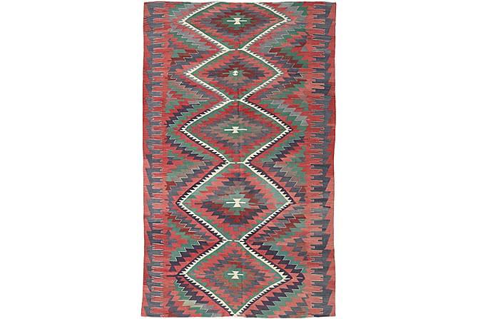 Stor Kelimmatta Turkisk 192x298 - Röd - Inredning - Mattor - Kelimmattor