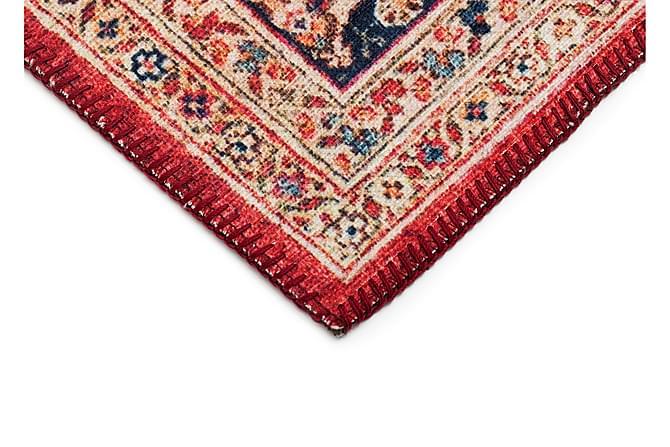 Friezematta Cleo Afghan 133x190 - Röd - Inredning - Mattor - Mönstrade mattor