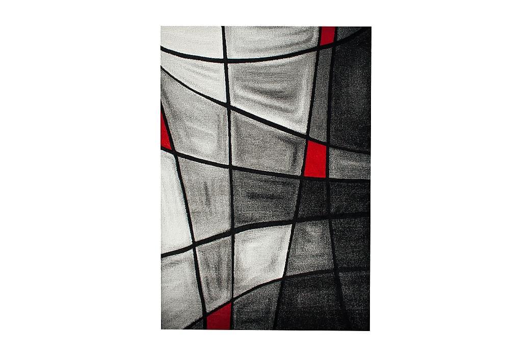 Friezematta London Brilliance 133x190 - Röd - Inredning - Mattor - Mönstrade mattor