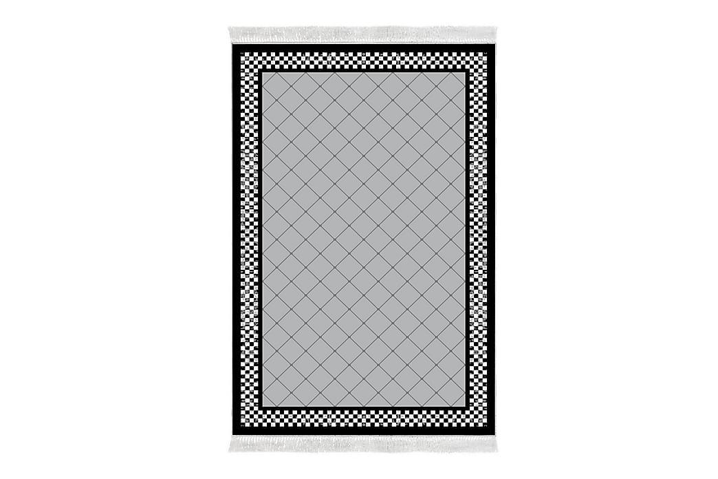Matta Alanur Home 100x200 cm - Grå/Svart/Vit - Inredning - Mattor - Mönstrade mattor
