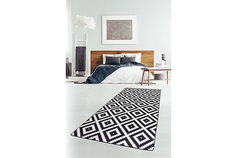 Matta Chilai 100x150 cm - Svart/Vit - Inredning - Mattor - Mönstrade mattor