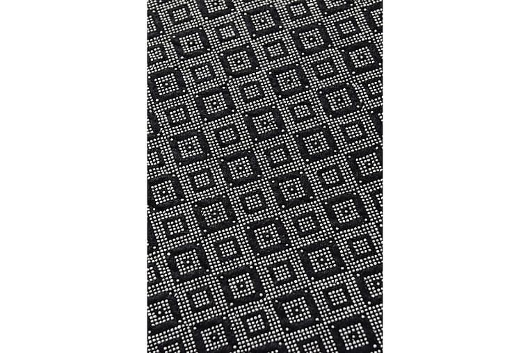 Matta Chilai 100x180 cm - Svart/Vit - Inredning - Mattor - Mönstrade mattor