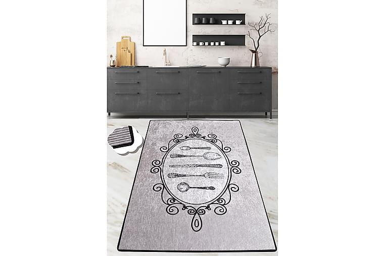 Matta Chilai 120x180 cm - Grå/Svart - Inredning - Mattor - Mönstrade mattor