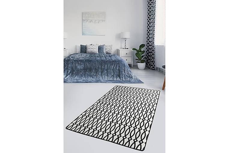 Matta Chilai 140x190 cm - Svart/Vit - Inredning - Mattor - Mönstrade mattor