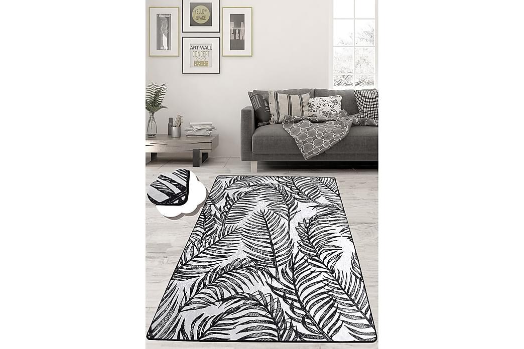 Matta Chilai 150x230 cm - Svart/Vit - Inredning - Mattor - Mönstrade mattor