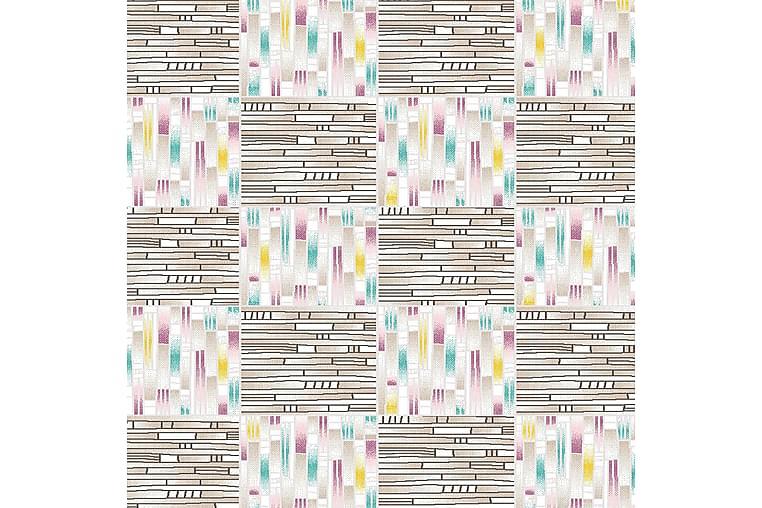 Matta Homefesto 7 100x200 cm - Multifärgad - Inredning - Mattor - Mönstrade mattor