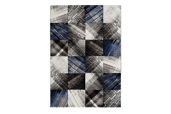 Matta Indigo Dino 133x190 - Blå - Inredning - Mattor - Mönstrade mattor