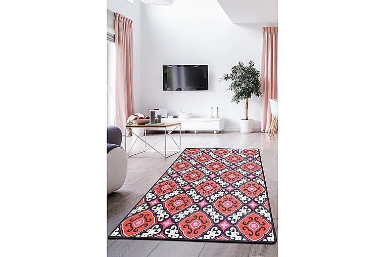 Matta Mykola 120x180 cm - Flerfärgad/Sammet - Inredning - Mattor - Mönstrade mattor