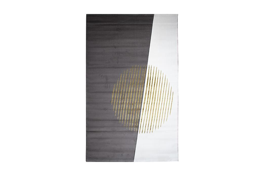 Matta Tacettin 120x170 cm - Guld/Vit - Inredning - Mattor - Mönstrade mattor