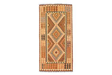 Orientalisk Kelimmatta Afghan 100x196