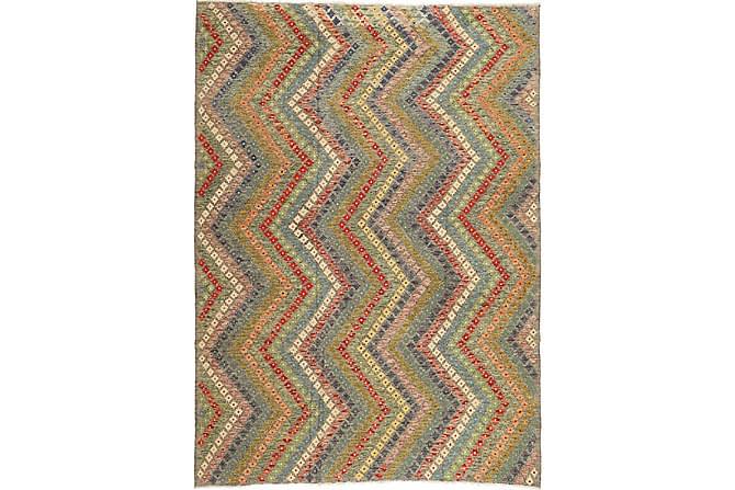 Stor Kelimmatta Afghan 212x292 - Flerfärgad - Inredning - Mattor - Marockanska mattor