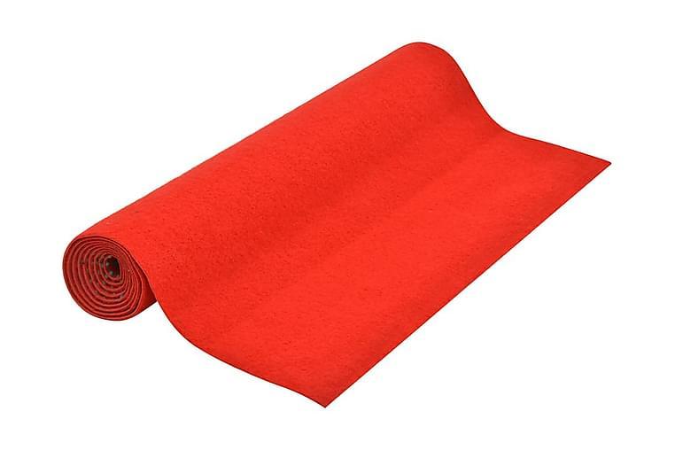 Konstgräs med halkskydd 4x1,33 m röd - Röd - Inredning - Mattor - Nålfiltsmattor & konstgräsmattor