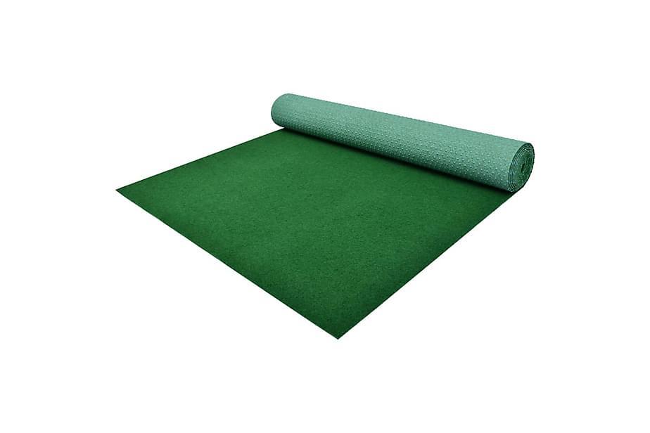 Konstgräs med halkskydd PP 2x1 m grön