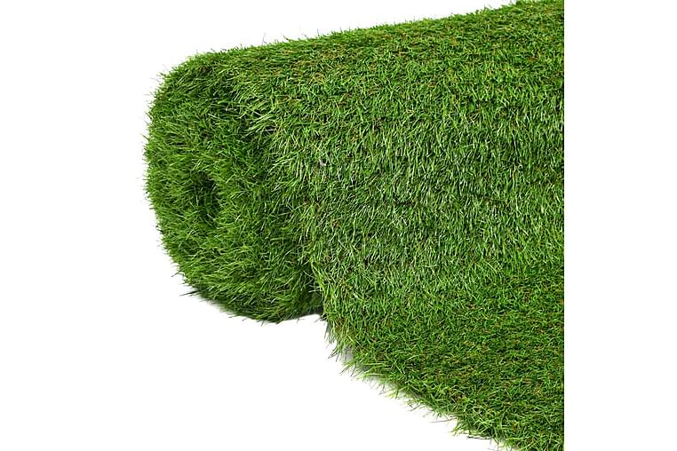 Konstgräsmatta 1,33x8 m/40 mm grön - Grön - Inredning - Mattor - Nålfiltsmattor & konstgräsmattor