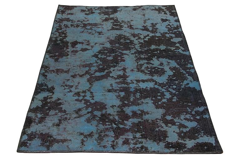 Handknuten Persisk Matta 100x160 cm Vintage - Blå/Mörkgrön - Inredning - Mattor - Orientaliska mattor