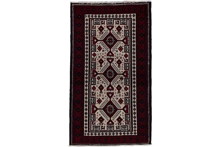 Handknuten Persisk Matta 95x140 cm Kelim - Beige/Röd - Inredning - Mattor - Orientaliska mattor