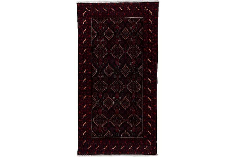 Handknuten Persisk Matta Våg 182x189 cm Kelim - Svart/Röd - Inredning - Mattor - Orientaliska mattor