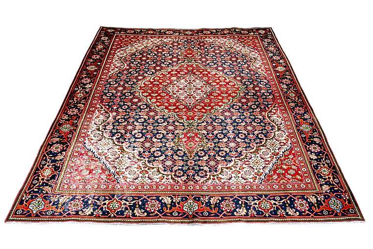 Handknuten Persisk Patinamatta 275x366 cm - Röd/Mörkblå - Inredning - Mattor - Orientaliska mattor