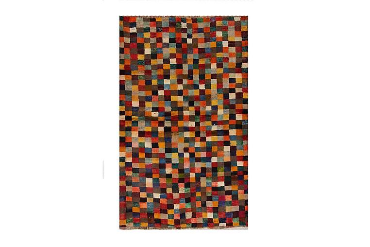 Handknuten Persisk Ullmatta 128x208 cm Gabbeh Shiraz - Flerfärgad - Inredning - Mattor - Orientaliska mattor