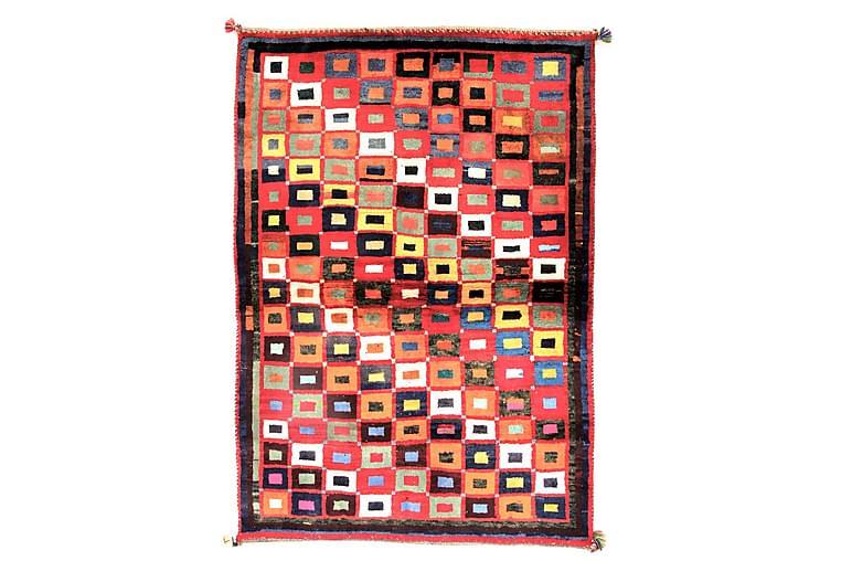 Handknuten Persisk Ullmatta 134x188 cm Gabbeh Shiraz - Flerfärgad - Inredning - Mattor - Orientaliska mattor