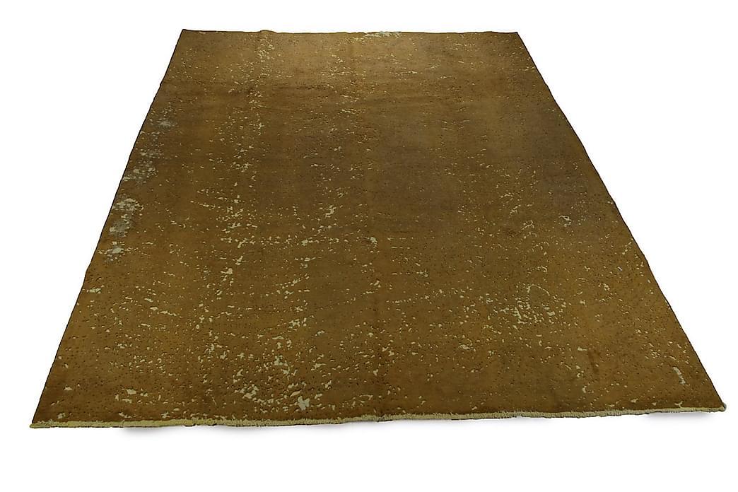 Handknuten Persisk Ullmatta 299x382 cm Vintage - Senap - Inredning - Mattor - Orientaliska mattor
