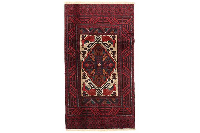 Matta Beluch 88x163 Stor - Röd - Inredning - Mattor - Orientaliska mattor