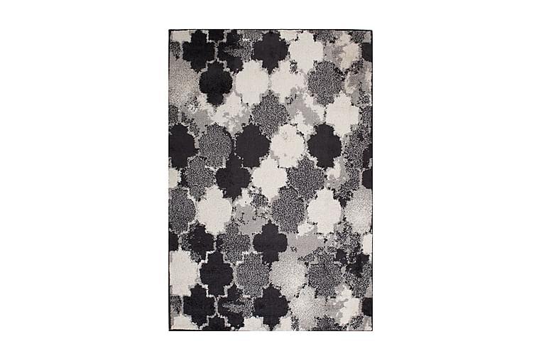 Matta Lotto-7 100x150 cm Grå/Svart/Vit - Inredning - Mattor - Orientaliska mattor