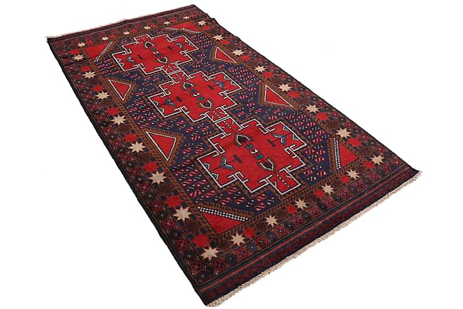 Orientalisk Matta Beluch 110x200 - Röd - Inredning - Mattor - Orientaliska mattor