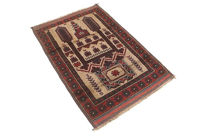Orientalisk Matta Beluch 83x135 - Röd - Inredning - Mattor - Orientaliska mattor