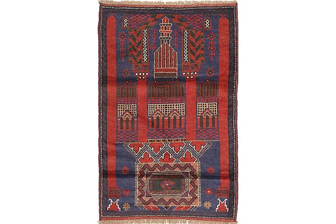 Orientalisk Matta Beluch 83x140 - Flerfärgad - Inredning - Mattor - Orientaliska mattor