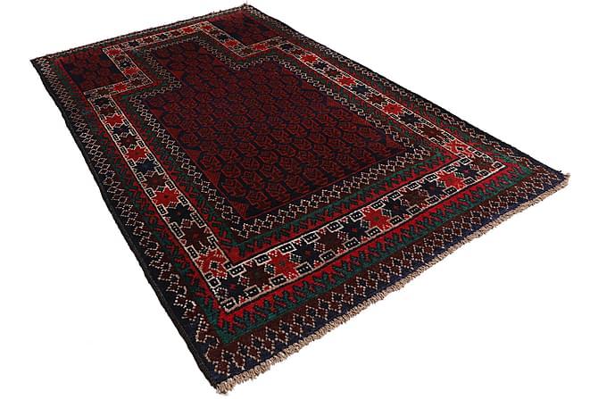 Orientalisk Matta Beluch 86x134 - Röd - Inredning - Mattor - Orientaliska mattor