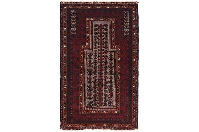Orientalisk Matta Beluch 87x149 - Brun - Inredning - Mattor - Orientaliska mattor