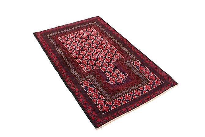 Orientalisk Matta Beluch 88x136 - Röd - Inredning - Mattor - Orientaliska mattor