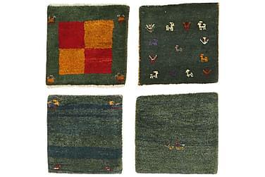 Orientalisk Matta Gabbeh 40x40 4-pack