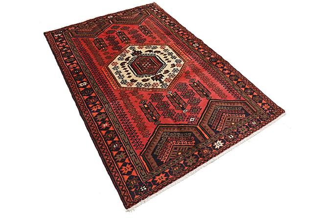 Orientalisk Matta Hamadan 125x182 Persisk - Röd - Inredning - Mattor - Orientaliska mattor