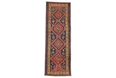Orientalisk Matta Heriz 105x312 Patina