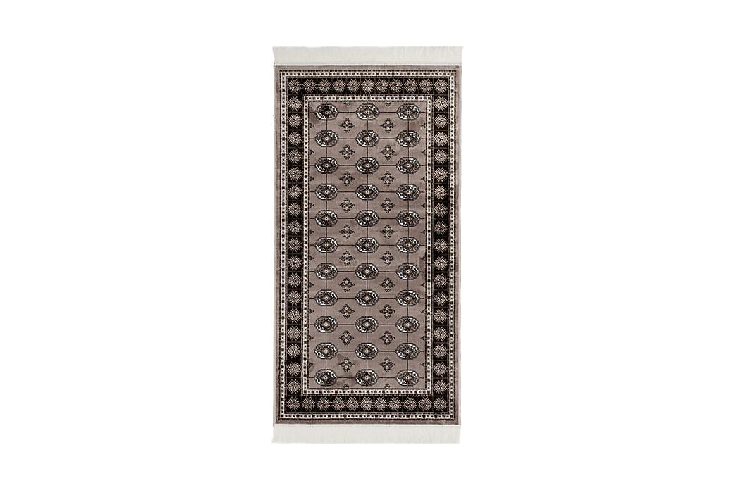 Orientalisk Matta Kashmir 80x150 Viskos - Grå - Inredning - Mattor - Orientaliska mattor