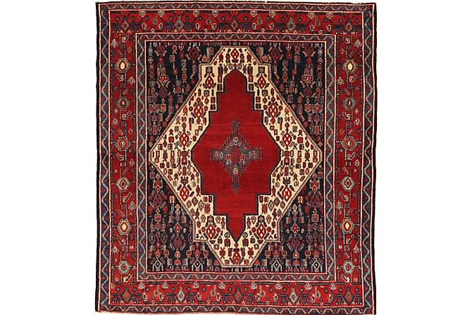 Orientalisk Matta Senneh 124x140 Persisk - Röd - Inredning - Mattor - Orientaliska mattor