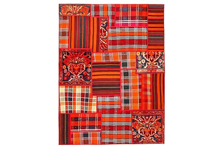 Handknuten Persisk Patchworkmatta 152x204 cm - Flerfärgad - Inredning - Mattor - Patchwork-matta