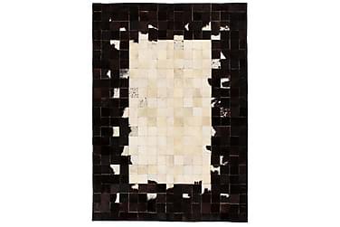 Matta Lockyer Lappad 120x170 Fyrkanter Läder