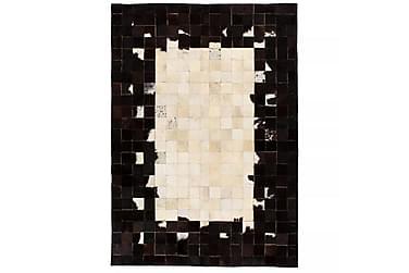 Matta Lockyer Lappad 80x150 Fyrkanter Läder