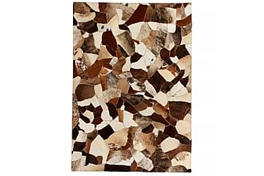 Matta Lockyer Lappad 80x150 Slumpmässig Läder