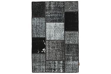 Patchworkmatta Black & White 100x151 Modern