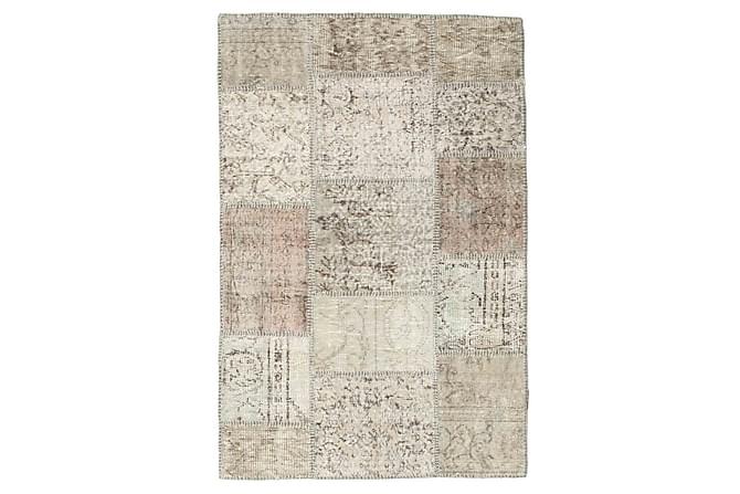 Patchworkmatta Black & White 100x152 Modern - Beige|Grå - Inredning - Mattor - Patchwork-matta