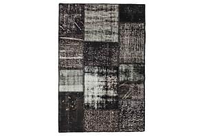 Patchworkmatta Black & White 101x150 Modern
