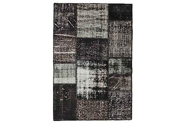 Patchworkmatta Black & White 101x150 Modern